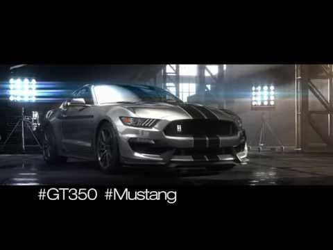 Nowy Mustang Shelby GT350