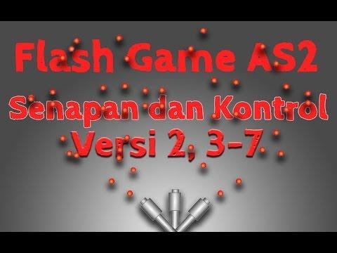 Membuat Game Flash Actionscript 2, 11, Senapan dan Kontrol Versi 2, Batas Putaran Senapan