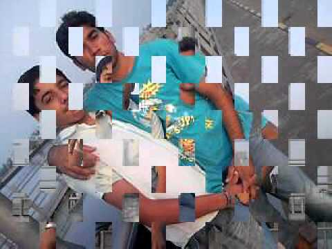 hona tha pyar   Zohaib AND Adeel with his frnd and whelling stunt.mp4