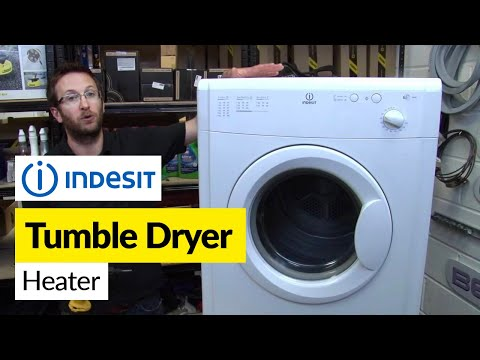 How to replace a heater in a tumble dryer