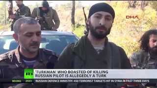 'Turkmen' who boasted of killing Russian pilot is allegedly Turk nationalist - RUSSIATODAY