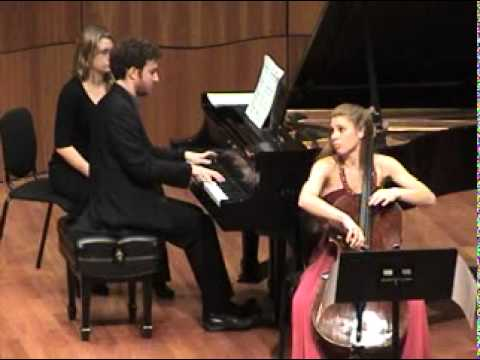 Debussy - Cello Sonata - 3 of 3