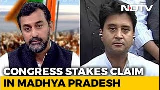 "Election Results 2018 - ""Would Be Honoured To Serve,"" Says Jyotiraditya Scindia On Chief Minister - NDTV"