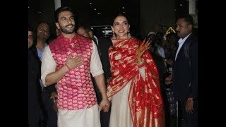 Newly wed Deepika Padukone, Ranveer Singh return to Mumbai - NEWSXLIVE