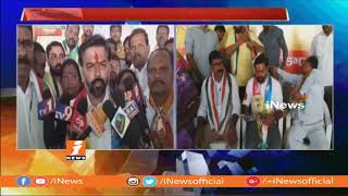 Uppal TDP Candidate Tulla Veerender Goud Releases Prajakutami Manifesto at Nacharam Office | iNews - INEWS