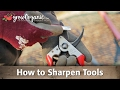 Sharpen Garden Tools: How to Sharpen Tools
