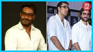 Ajay Sacks His Director Over Creative Differences | Saif To Renuite With Business Partner Dinesh - ZOOMDEKHO