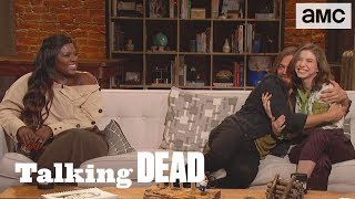 'Why is Rick Talking to Negan?' Highlights Ep. 902 | Talking Dead - AMC