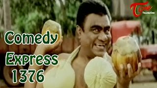 Comedy Express 1376 || Back to Back || Telugu Comedy Scenes - TELUGUONE