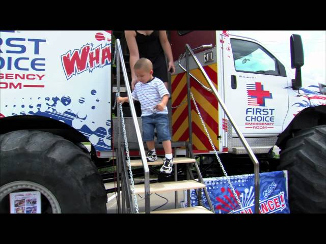 The First Choice ER Whambulance - Monster Truck