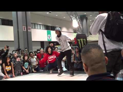 "WOD LA 2012 All Styles Final ""Ruin Vs Larry (Les Twins)"""
