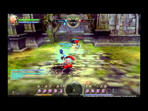 Dragon Nest: Destroyer vs Guardian (Mercenary and Paladin 3rd Class)