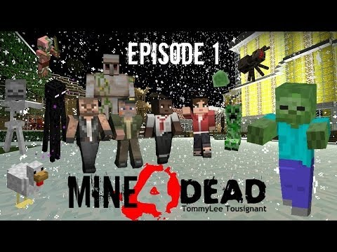 Mine4Dead Ep01 The Town - BrainZGamingHD