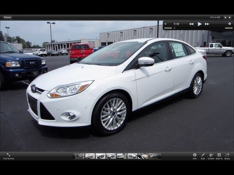 2012 Ford Focus SEL Start Up, Engine, and In Depth Tour