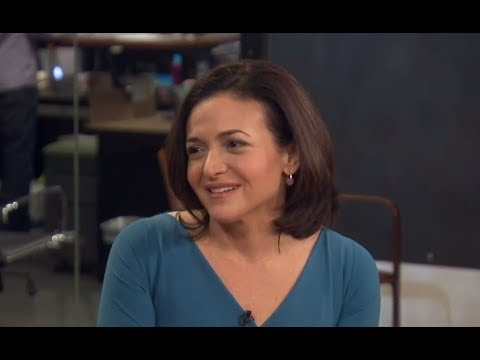 Sheryl Sandberg: 'I'd Love To See Hilary Clinton Be President'