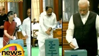 Vice President Election | Modi, Venkaiah Naidu and Opposition Leaders Cast Votes | Mango News - MANGONEWS