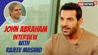 John Abraham Latest Interview with Rajeev Masand | Parmanu Movie | CNN News18 - IBNLIVE
