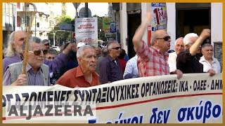 🇬🇷 Greeks protest against proposed pension cuts | Al Jazeera English - ALJAZEERAENGLISH