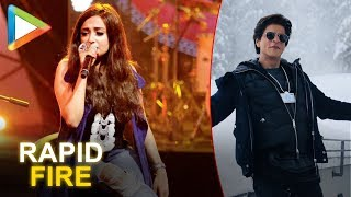 """Shah Rukh Khan has the most incredible and magnetic personality"""": Monali Thakur   RAPID FIRE - HUNGAMA"""