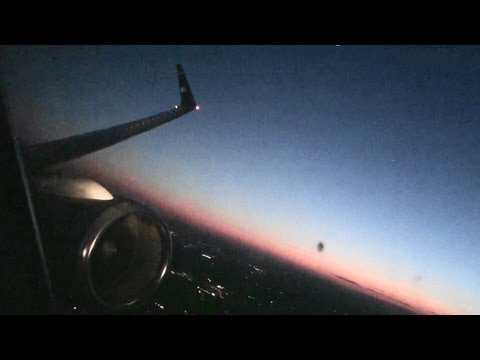 Incredible First Class HD 757 Takeoff From Charlotte At Dusk!!!