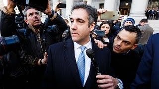 Watch Live: Prosecutors file sentencing memo for Michael Cohen - NBCNEWS