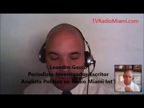 TV Radio Miami - ENTREVISTA a Leandro Gasco, un periodista *sin pelos en la lengua*