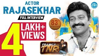 Actor Rajasekhar Exclusive Interview | Frankly With TNR #83 | Talking Movies With iDream #554 - IDREAMMOVIES