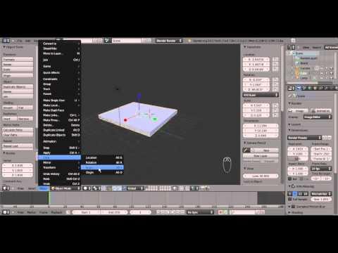 Onflow Tuts - Curso Basico de Blender 3D - Aula 2