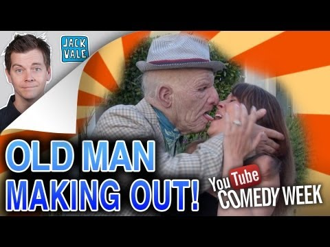 Old Man Making Out