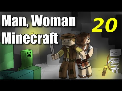 "Man Woman Minecraft S2E20 ""Hibernation"" (Jungle Island Survival)"