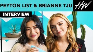Peyton List and Brianne Tju Gush Over Alexis Bledel & Tell Us 2 Truths And A Lie!! | Hollywire - HOLLYWIRETV
