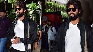Vijay Devarakonda Spotted at Mumbai Airport | Latest Video | World Famous Lover | TFPC - TFPC