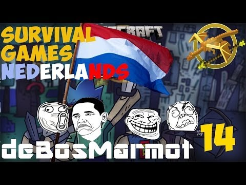 Survival Games #14 - NUDISTEN PARTY (dutch)