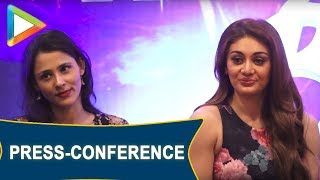 Gurmeet Debina and Shefali Jariwala Press Conference for The Country Club New Year Bash 2019 - HUNGAMA