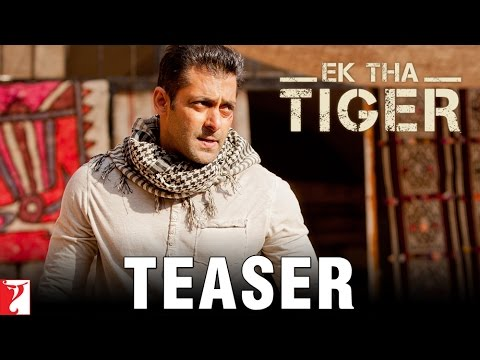 Ek Tha Tiger - Teaser Trailer - Salman Khan - Releasing Eid 2012 - YouTube