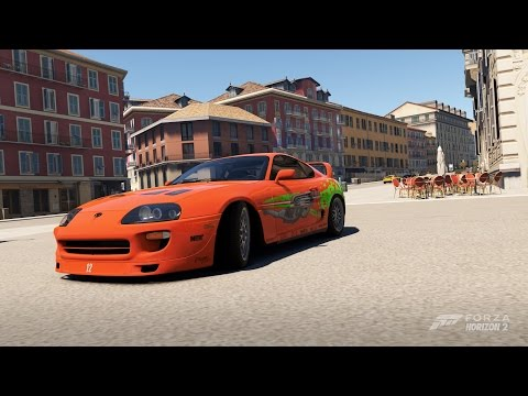 FH2 Fast And Furious Car Pack: 1,400hp+ Toyota Supra Drag King!