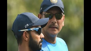 In Graphics: Ravi Shastri defends Ajinkya Rahanes omission from first two tests - ABPNEWSTV