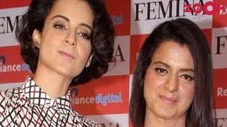 Kangana Ranaut's sister Rangoli Chandel STANDS UP for Kangana | Bollywood News - ZOOMDEKHO