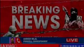 Pulwama: Rifle snatching attempt foiled; terrorists attack police post - NEWSXLIVE