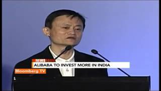 Newsroom: Alibaba To Invest More In India - BLOOMBERGUTV