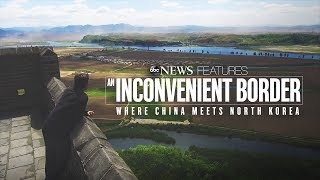 North Korea-China border featured  in  'An Inconvenient Border: Where China Meets North Korea' - ABCNEWS