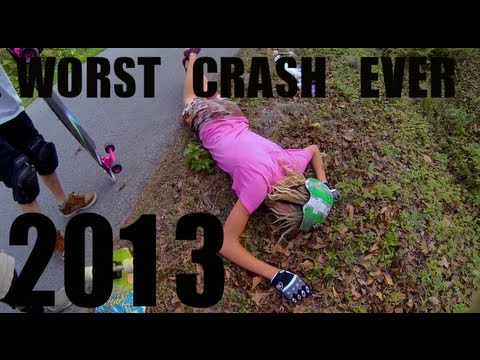 40MPH Longboard Crash But Boarding! Ass Cheese Grader (Worst Road Ass Rash Ever)