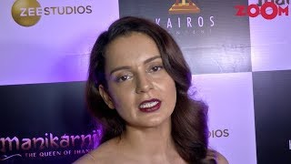 Kangana Ranaut on Sonu Sood's Exit from Manikarnika & competition from other films - ZOOMDEKHO