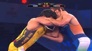 PWL 3 Day 13: Praveen Rana Vs Vinod Omprakash at Pro Wrestling League 2018 | Highlights - NEWSXLIVE