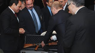 تعرف على هدية الرئيس الروسي بوتين للسيسي