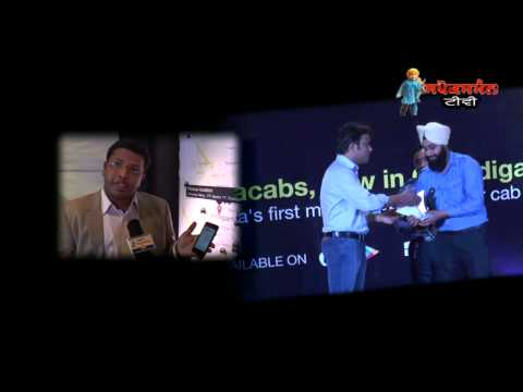 <p>Ola cab application launch in Chandigarh&nbsp;</p>