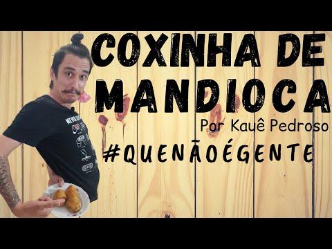RECEITAS DO KAUÊ - COXINHA DE MANDIOCA