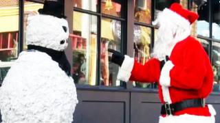 Funny : Christmas Prank scaring Santa Clause – Season 2 Episode 3