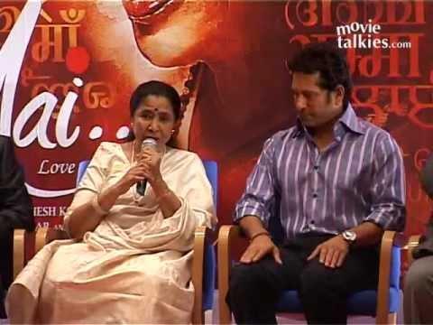 Sachin Tendulkar Launches The Music Of Asha Bhosle's Acting Debut 'Mai'