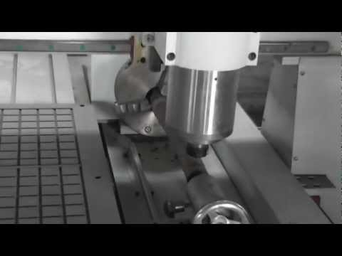 How to use a rotary axis on your 3 axis cnc router, china cnc machine